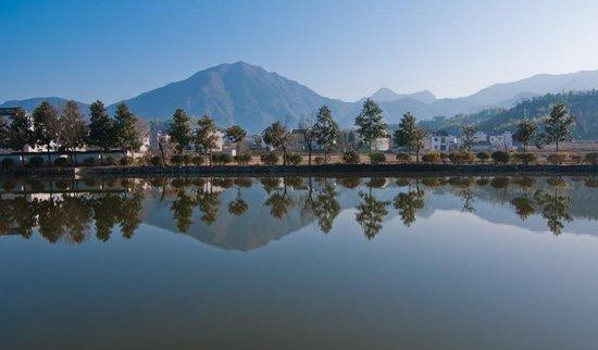 参天大树必有其根,怀山之水必有其源     饱经千年世事沧桑的江村,村图片